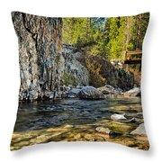 Goddard Canyon Throw Pillow