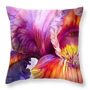 Goddess Of Insight Throw Pillow