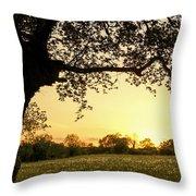 Goddess Tree 3 Throw Pillow