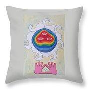 Goddess Wizard Throw Pillow
