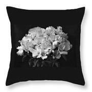 Godetia Wild Roses Throw Pillow