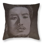 Godfrey Gao Throw Pillow