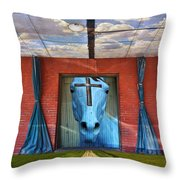 Godhead Throw Pillow