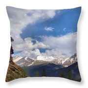 God's Country Throw Pillow