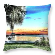 God's Country Iv Throw Pillow
