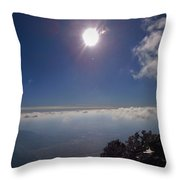 God's Creation Throw Pillow