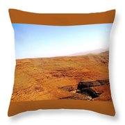 God's Fingerprint 5 Throw Pillow