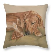 God's Gift Throw Pillow