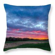 God's Grandeur Throw Pillow