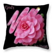 God's Paintbrush Throw Pillow