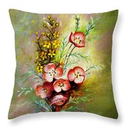 God's Smile Throw Pillow
