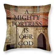 Gods Strength And Love Throw Pillow