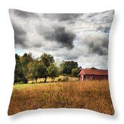 God's Tranquility Throw Pillow