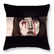 Gogo Without Text Throw Pillow