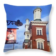 Goin To The Yard Throw Pillow