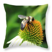 Going After It Throw Pillow
