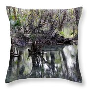 Going Back In Time Throw Pillow