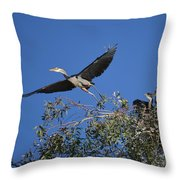 Going For Takeout Throw Pillow