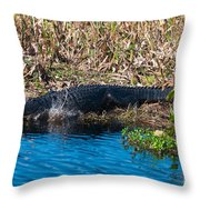 Going In Throw Pillow