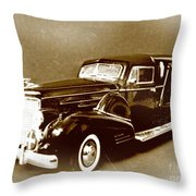 Going Out In Style Throw Pillow