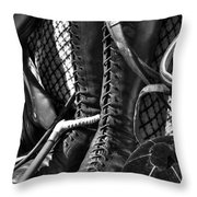 Going Riding Throw Pillow