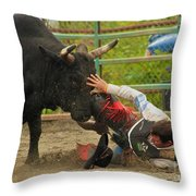 Going To Hurt Throw Pillow
