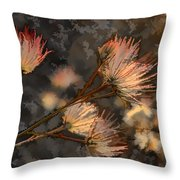 Going To Seed Two Throw Pillow