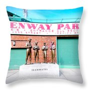 Going To The Park Throw Pillow