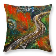 Going Where Throw Pillow