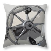 Goite Reel Throw Pillow
