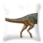 Gojirasaurus Dinosaur Throw Pillow