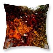 Gold And Myrrh Throw Pillow