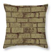 Gold Bricks Throw Pillow