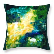 Gold Fish II Throw Pillow