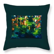 Gold Fish IIi Throw Pillow