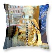 Gold Glamour Throw Pillow