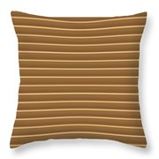 Gold Golden Strips Stripes 36x12 Horizontal Landscape Energy Graphics Background Designs  And Color  Throw Pillow
