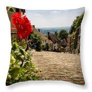 Gold Hill Shaftesbury Throw Pillow