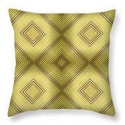 Gold Metallic 14 Throw Pillow