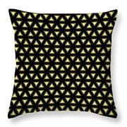 Gold Metallic 20 Throw Pillow