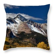 Golden Afternoon Throw Pillow