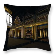 Golden Altar Of Kyoto Throw Pillow