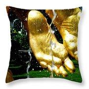 Bravado Feats Throw Pillow