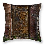 Golden Door Throw Pillow