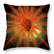Golden Eye Throw Pillow
