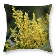 Golden Flora 2013 Throw Pillow