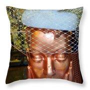 Golden Gal Throw Pillow