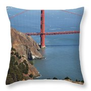 Golden Gate Bridge II Throw Pillow by Jenna Szerlag