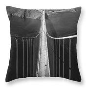 Golden Gate Bridge In 1937 Throw Pillow