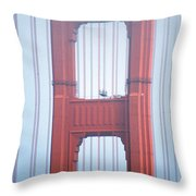 Golden Gate Bridge San Francisco California Throw Pillow